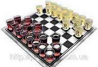 Алко-шахматы ( с рюмками, стопками) стеклянные алко-игры