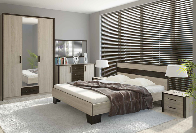 Модульная спальня Скарлет комплект, фото 2