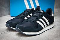 Кроссовки мужские в стиле Adidas  Haven, темно-синий (12323),  [  45 (последняя пара)  ]