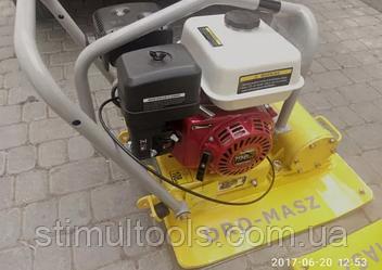 Виброплита Dro-Masz 110 кг