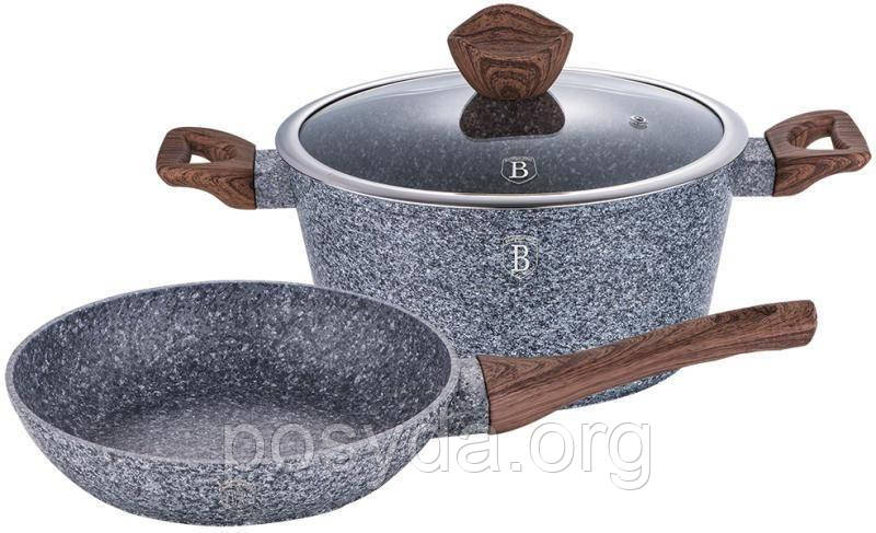 Набор посуды Berlinger Haus Forest Dark Gray BH-1217 - 3 пр