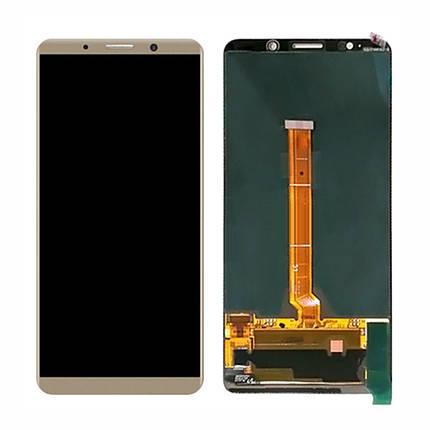 Дисплей (экран) для Huawei Mate 10 Pro BLA-L29 с сенсором (тачскрином) розово-золотистый Оригинал, фото 2