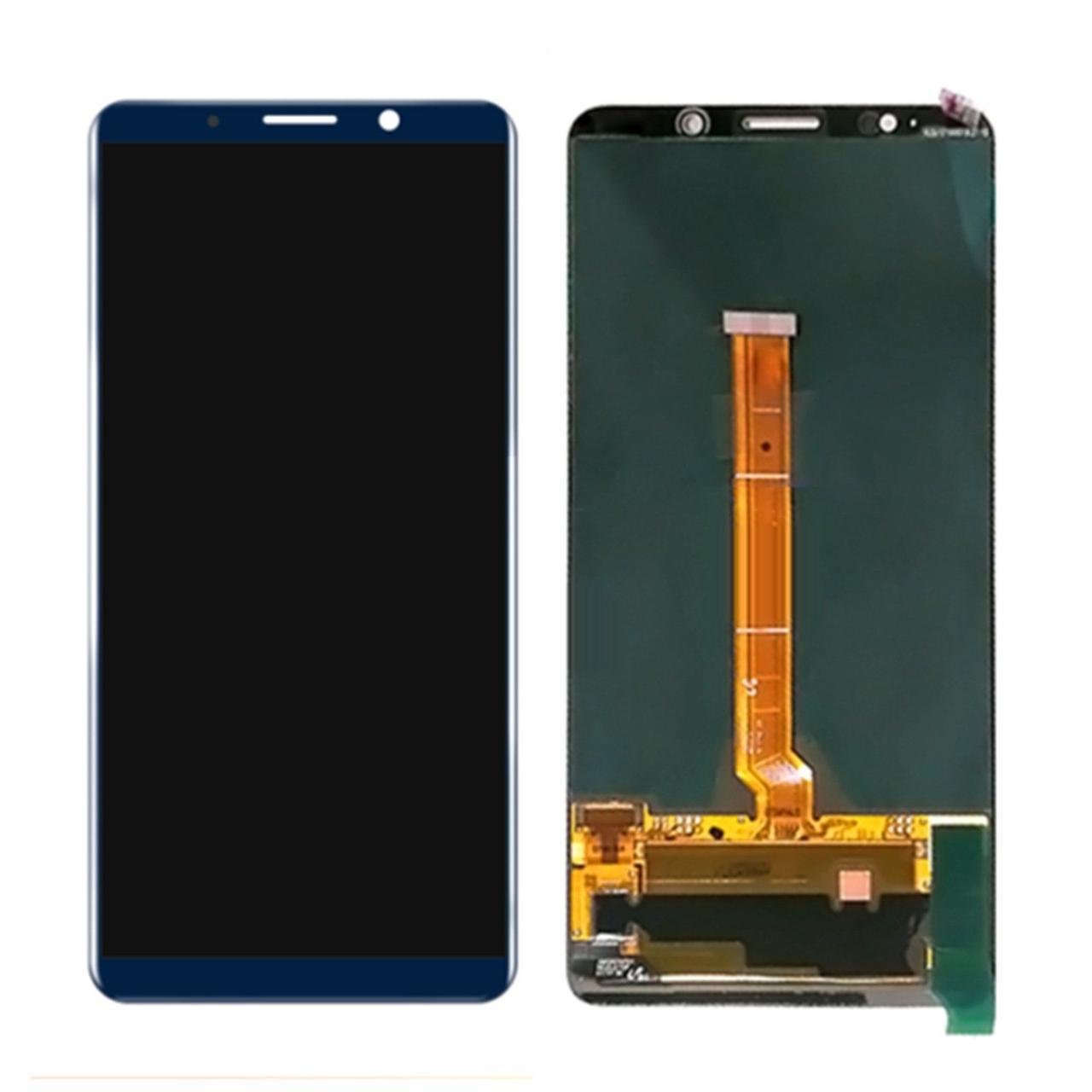 Дисплей (экран) для Huawei Mate 10 Pro BLA-L29 с сенсором (тачскрином) синий