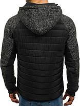 Куртка мужская демисезонная J.Style черная, фото 2