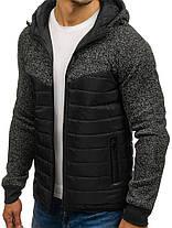 Куртка мужская демисезонная J.Style черная, фото 3