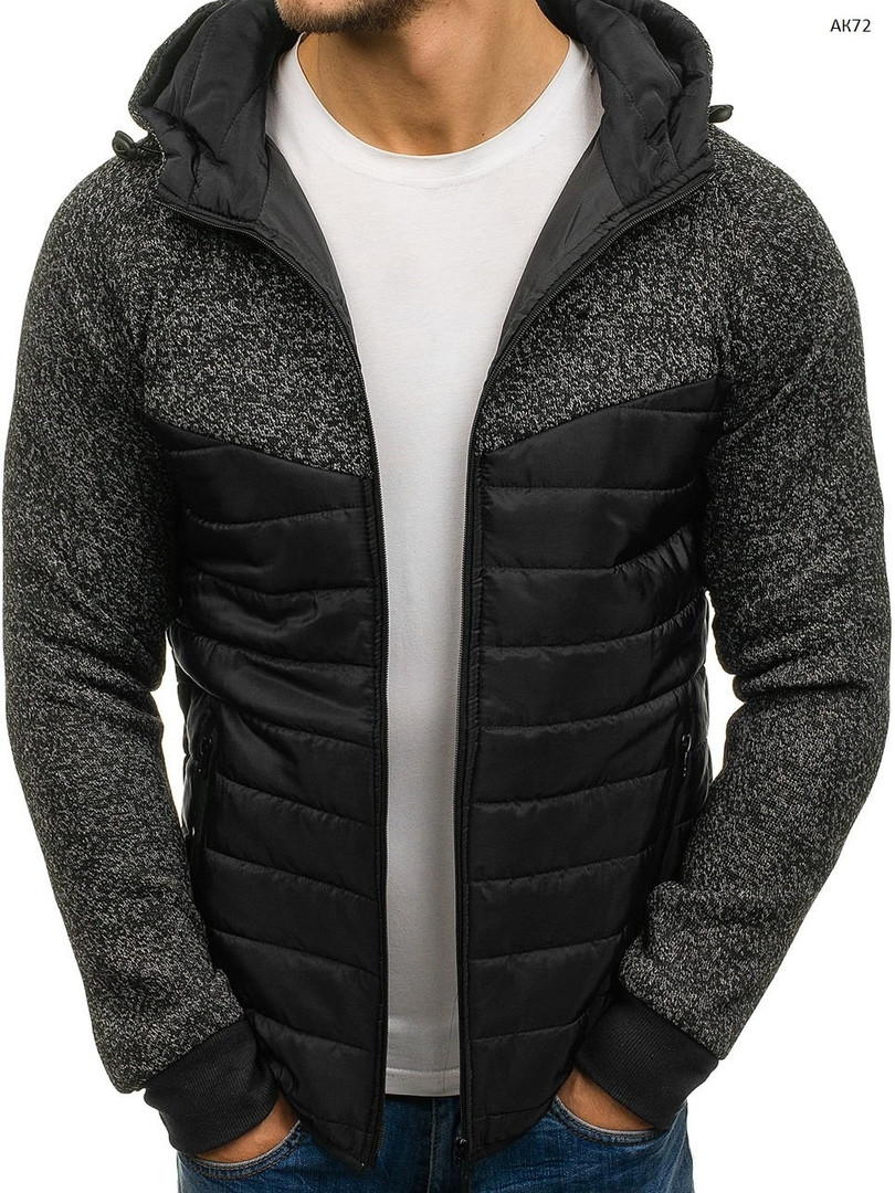 Куртка мужская демисезонная J.Style черная