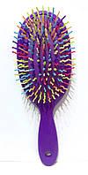 Массажная щётка для волос, овал, большая