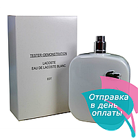 Lacoste eu de Lacoste Blanc White EDT TESTER мужской,100 мл