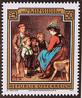 Австрия 1985 г.