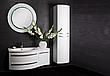 Тумба под раковину для ванной комнаты BOTTICELLI Vanessa Vndl-110-white с умывальником Vanessa 110, фото 4