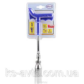 Ключ свечной 21мм ALCA