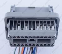 Разъем электрический 24-х контактный (43-23) б/у , фото 1