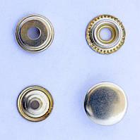 Кнопки пуговицы 15 мм золотистого цвета