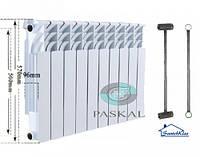 Биметаллический секционный радиатор Paskal 500/96