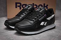 Кроссовки женские в стиле Reebok Classic, черные (12834),  [  36 (последняя пара)  ]