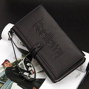 Мужской кошелек-клатч Baellerry Guero черный, фото 2