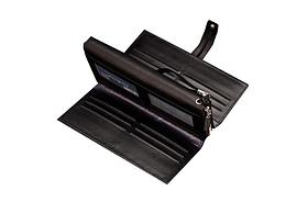 Мужской кошелек-клатч Baellerry Guero черный, фото 3