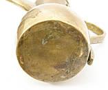 Антикварный арабский кофейник, латунный чайник, даллах, латунь 29 см, фото 9