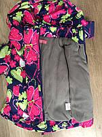 Комбинезон для девочек на флисе оптом (куртка +комбинезон), Taurus, 98-128 рр.,DL-612, фото 2