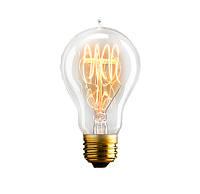 Лампа Эдисона UkrLed A60 60W 15 якорей (петля) (562)