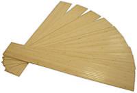 Панель бамбуковая, светлая, размер панели 120 см х 16,5 см