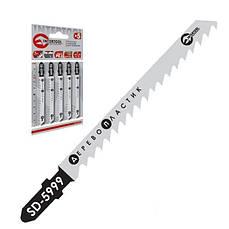 Полотно пильное для лобзика рабочая длина 75мм, расстояние между зубьями 4.0мм  Intertool SD-5999