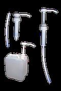 Дозатор до ПЕ каністри на 5 і 10 л, ПЕ флакона 1 л (одна доза – прибл. 30 мл).