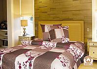 Полуторный постельный комплект Лиса 1
