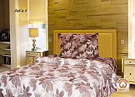 Полуторный постельный комплект Лиса 4