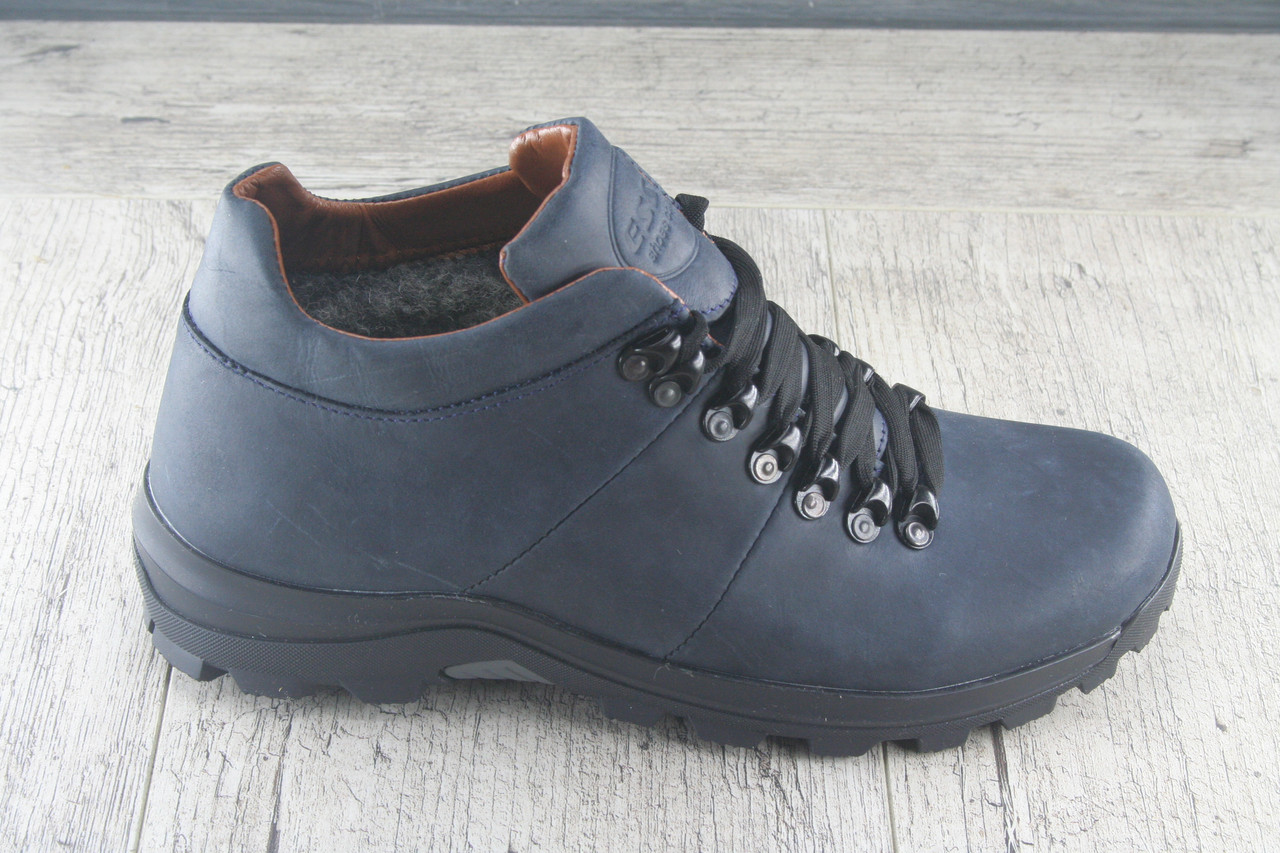 """Ботинки мужские """"Timber""""  ЗИМА из натурально кожи, обувь теплая, повседневная"""