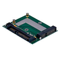 Переходник mSATA SSD Mini PCI-E - SATA 2.5
