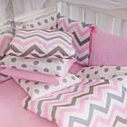 Комплект детского постельного белья Baby Design Премиум Индиго розовый 6пр, фото 7
