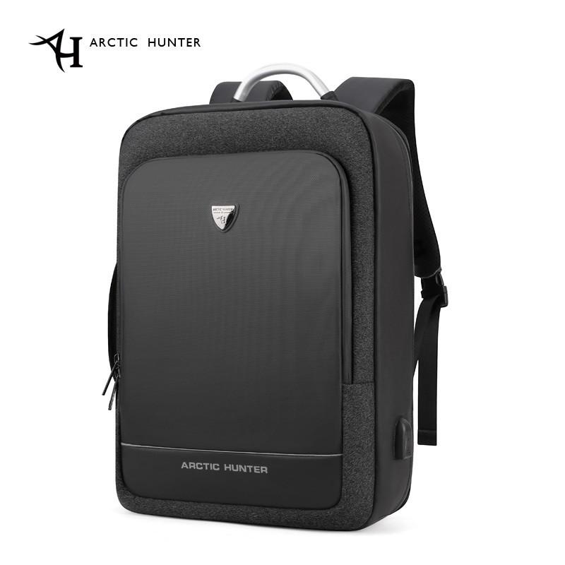 Деловой рюкзак Arctic Hunter оригинал с защитой от краж (B00227) для ноутбука 15.6