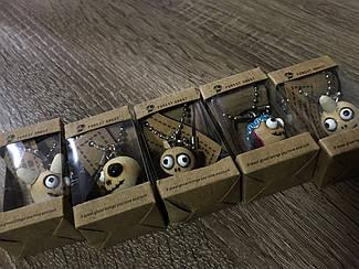 Брелок Куклы деревянные.