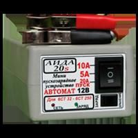 Міні пускозарядний АЇДА 20s—автомат. імпульсне десульфатирующее для АКБ 32-250А*год, режим зберігання