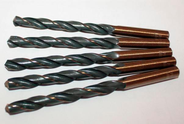 Сверло по металлу (кобальт) Р9 4,5 мм Triton tools 101014 (уп. 10 шт)