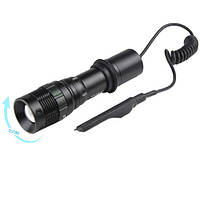 Фонарь Police Q8455- XPE,под ружье,вынос.кнопка,1х8650/3хААА,ЗУ 220V,zoom