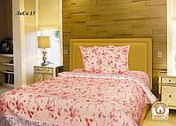 Двуспальное постельное белье Лиса 15