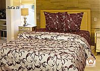 Двуспальное постельное белье Лиса 33