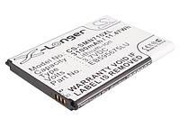 Аккумуляторная батарея CameronSino для смартфона Samsung Galaxy Note 2, 3100mAh/11.47Wh, X-Longer