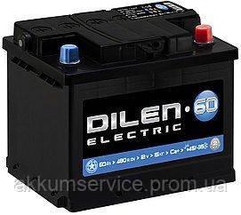 Аккумулятор автомобильный Dilen Electic 60AH L+ 480A