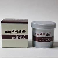 Глубоко увлажняющая маска для поврежденных волос с комплексом керамидов M-Cerade Hydrating Hair Pack.