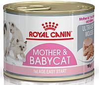 Royal Canin (Роял Канин) Babycat Instinctive корм для котят с момента отъема до 4 мес, 195 г. х 12шт