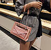 Женская сумка с прозрачной силиконовой вставкой и клатчем, фото 4