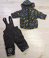 Комбинезон для мальчиков на флисе оптом ,Seagull,1-4 лет.,арт. CSQ-57008, фото 3