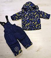 Комбинезон для мальчиков на флисе оптом ,Seagull,1-4 лет.,арт. CSQ-57008, фото 4