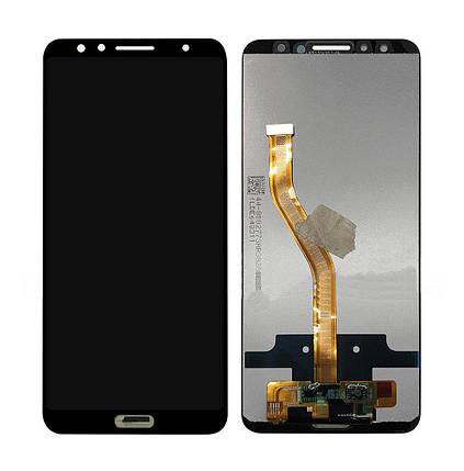 Дисплей (экран) для Huawei Nova 2s с сенсором (тачскрином) черный, фото 2