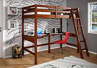 """Кровать чердак """"Либерти"""" из дерева"""