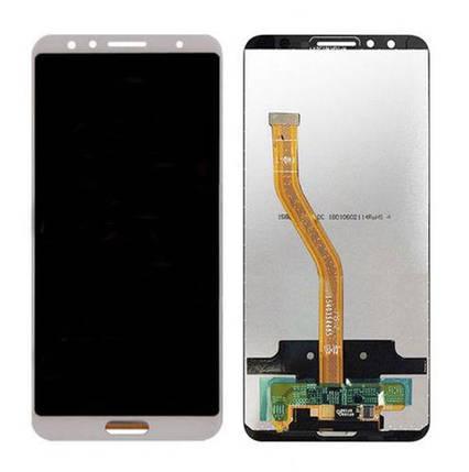 Дисплей (экран) для Huawei Nova 2s с сенсором (тачскрином) белый, фото 2