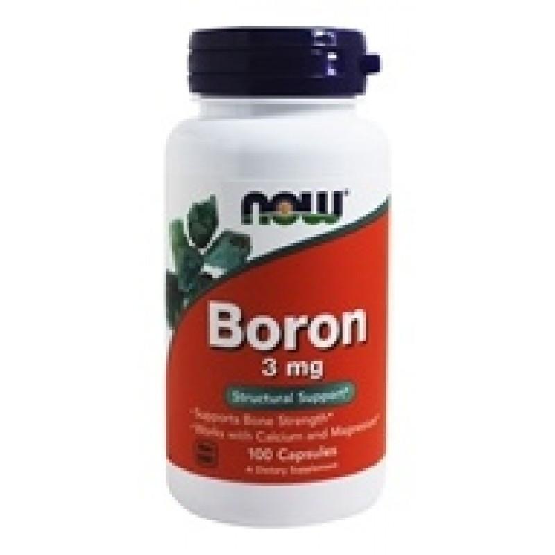 NOW_Boron 3 мг - 100 кап